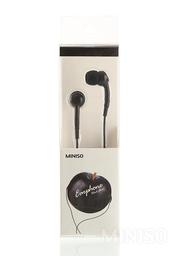 Audífonos de Cable Negro 1 m Accesorios