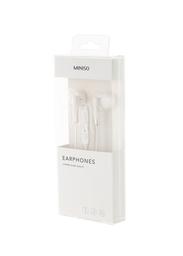 Audífonos de Cable 1317M Blanco/Plata