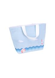 Lonchera en Forma Trapezoidal Ballenas Azul - Ocean Series