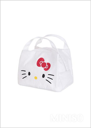 Lonchera Bordada Hello Kitty Blanco - Sanrio