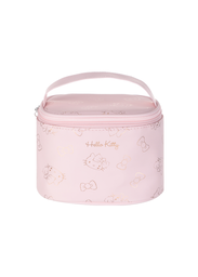 Cosmetiquera Drum Hello Kitty Rosa - Sanrio