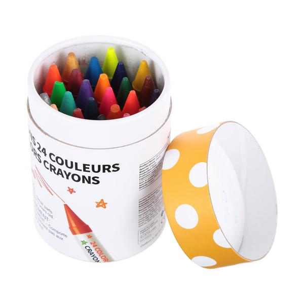 Paquete de Crayolas Jumbo 24 U