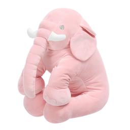 Peluche de Elefante Sentado Rosa