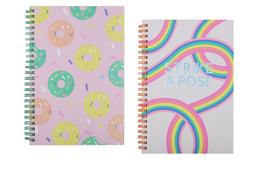Libreta de Notas Con Espiral A5 - Candy Rainbow Series