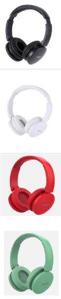Audífonos de Diadema Inalámbrico Mod V4 Blanco