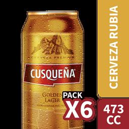 Cusqueña Lager lata 473cc