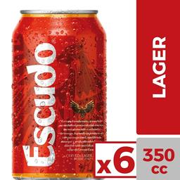 Escudo lata 350cc