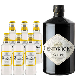 Hendricks Gin + 6x Britvic tonica botellin
