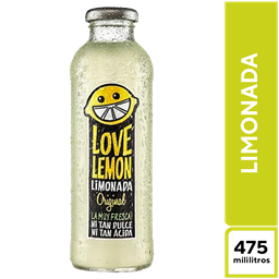 Love Lemon Limonada Original 475 ml