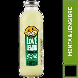 Love Lemon Limonada Menta & Jengibre 475 ml