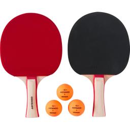 Set De 2 Paletas Y 3 Pelotas De Ping-Pong Fr 130 X 2 2*