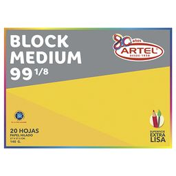 Block Medium 99 1/8 Artel