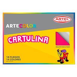 Estuche Artecolor Cartulina Artel