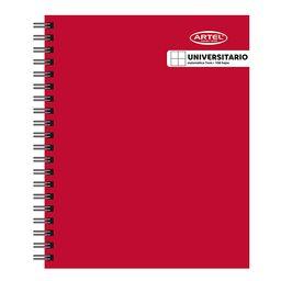 Cuaderno Universitario Liso Artel