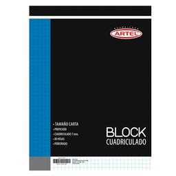 Block Nota Carta Prepicad,80H,Cuad 7 Mm