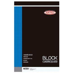 Block Nota Oficio Prepicad,80H,Cuad 7 Mm