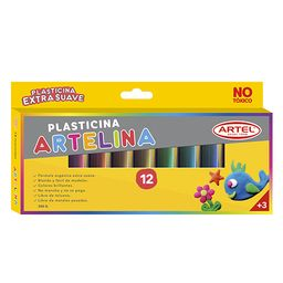 Estuche Plasticina Artelina Artel