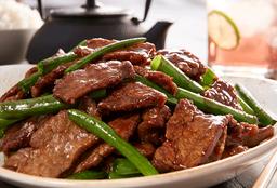 Mongolian Beef & Camarón para compartir