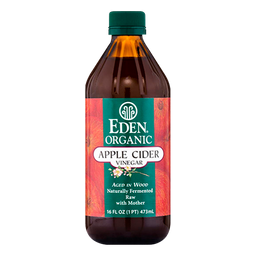 Vinagre Eden Organic de Sidra de Manzana Orgánico Crudo