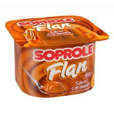Flan Caramelo Soprole 120G.