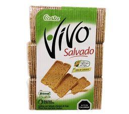 Galleta Tripack Salvado Vivo 585G.