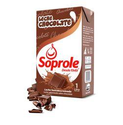 Leche Chocolate Soprole 1Lt.