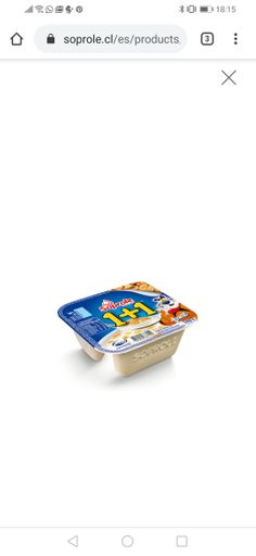 Soprole Yoghurt+Cereal 1+1 Zucaritas