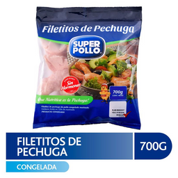 Super Pollo Filetitos De Pechuga