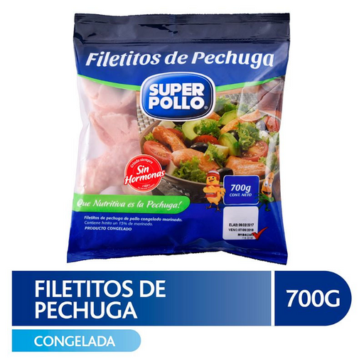 Super Pollo Filetitos De Pechuga