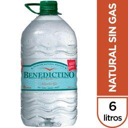 Agua Benedictino Bidon 6.5 Lt