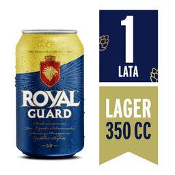 Cerveza Royal Guard Lata 350ml Six Pack