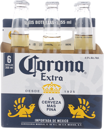 Cerveza Corona Extra Botella 355ml Six Pack