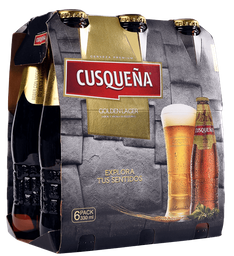 Cerveza Cusqueña Botella 330ml Six Pack
