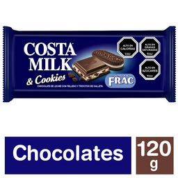 Chocolate Costa Frac 120 Gr