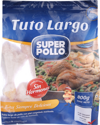 Trutro Largo Super Pollo Congelado 800 Gr