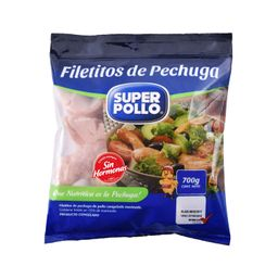 Filetitos De Pechuga Super Pollo 700 Gr