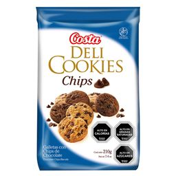 Deli Cookies Chips Chocolate 210 Gr