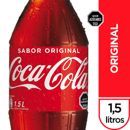 Coca-Cola Original Bebida Botella