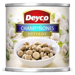 Champiñones Enteros Deyco Lata 184 Gr