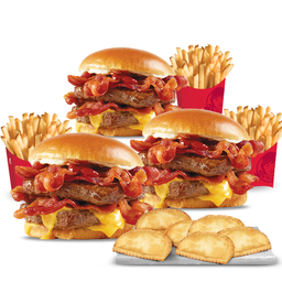 Baconator Trio Pack