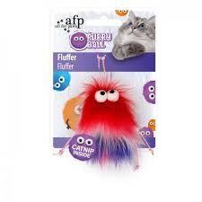 Hg Furry Ball Fluffer Rojo
