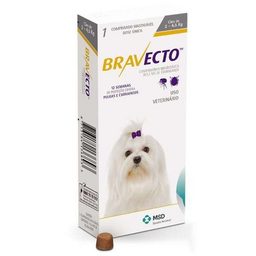 Bravecto   2 A 4.5 Kilos - Fluralaner- Msd