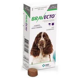 Bravecto 10 A 20 Kilos - Fluralaner - Msd