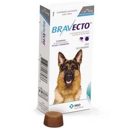 Bravecto 20 A 40 Kilos - Fluralaner- Msd