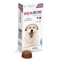 Bravecto  40 A 56 Kilos - Fluralaner- Msd