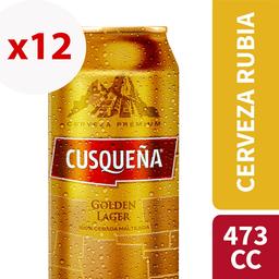 Cusqueña Cerveza 4.8° Lata