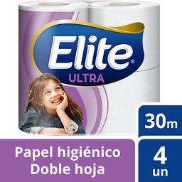Papel Hig Doble Hoja 4 Rollos Elite 4 Un