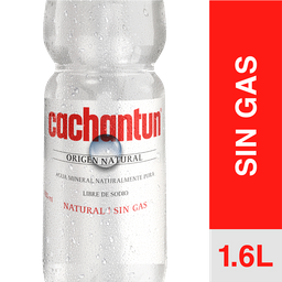 Cachantun Agua Mineral Sin Gas