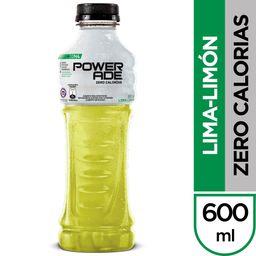 Bebida Isotonica Zero Lima Limon Powerade 600cc