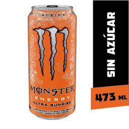 Monster Bebida Energetica Energy Ultra Sunrise